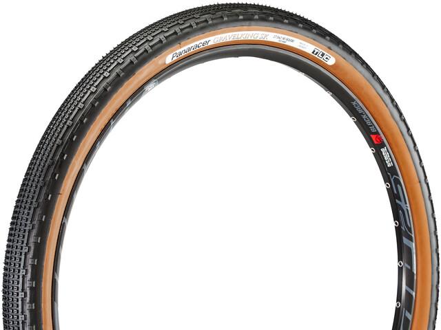 "Panaracer GravelKing SK Folding Tyre 27.5x1.90"" TLC black/brown"